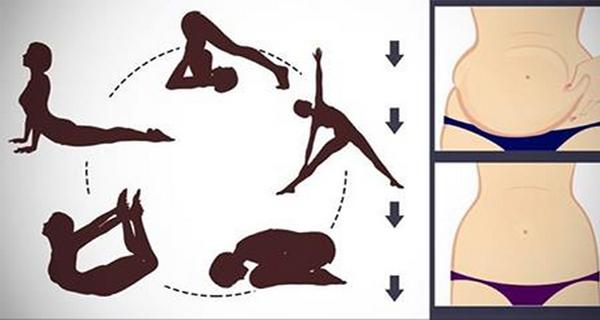 5 postures de yoga qui permettent de réduire la graisse du ventre tenace!