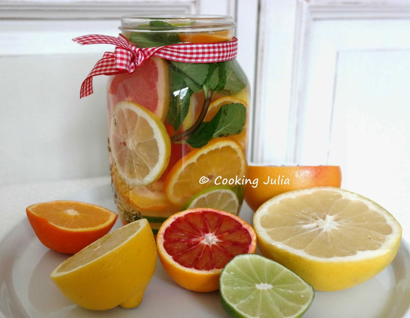 xDétox water aux agrumes 1