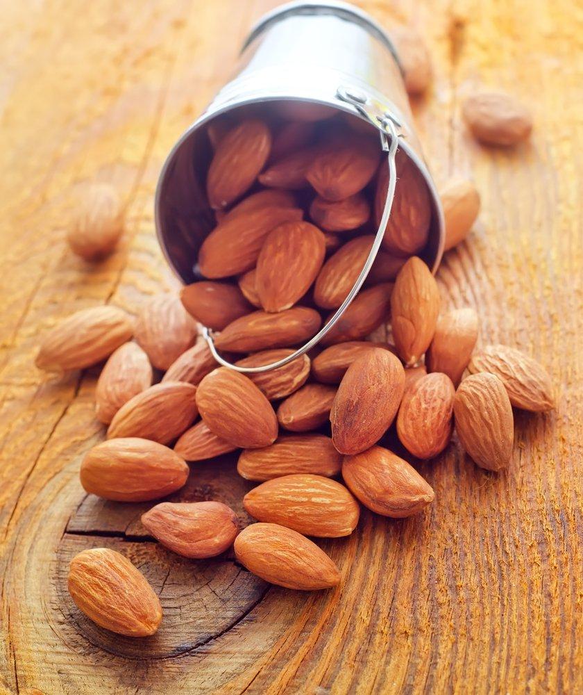 avoir moins de graisse abdominale grâce aux amandes!