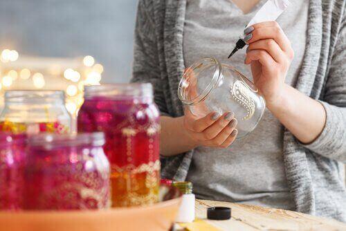 idées pour recycler des bocaux en verre