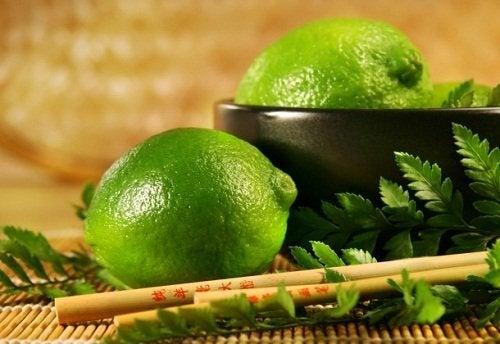 déodorant fait maison à base de citron vert